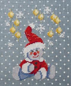 Les lumières de Noël n° 948 Au Fil de Martine