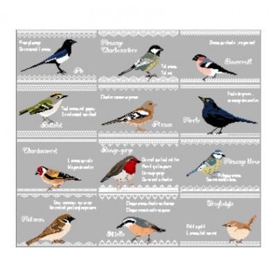 Les Oiseaux du Jardin Joli Tambour Création