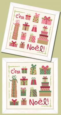Les Paquets de Noel N031 Lilipoints