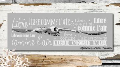 Libre comme l'air BDN44 Isabelle Haccourt Vautier