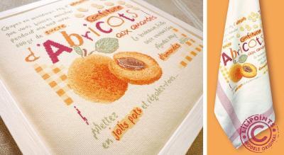 Confiture d'abricots G028 Lilipoints