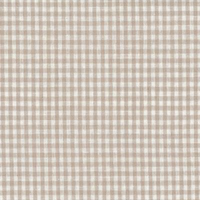 Tissus Patchwork Stof Lin Shabby Vichy gris ST18-013