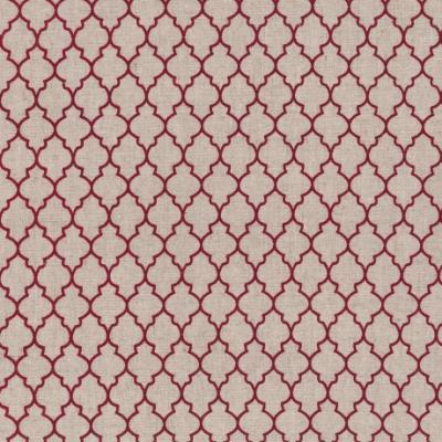 Tissus Patchwork Stof Lin Shabby Rouges ST18-154
