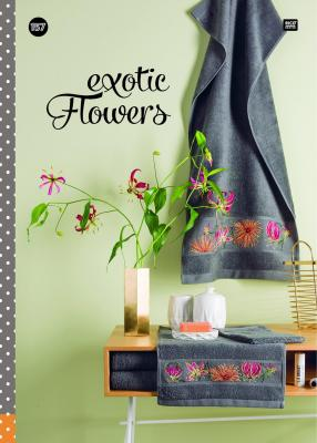 Livre N° 157 Exotic Flowers Rico Design