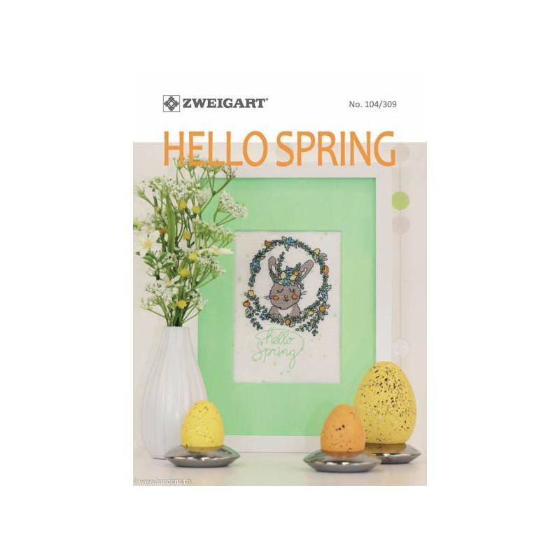 Livret zweigart n 104 309 hello spring