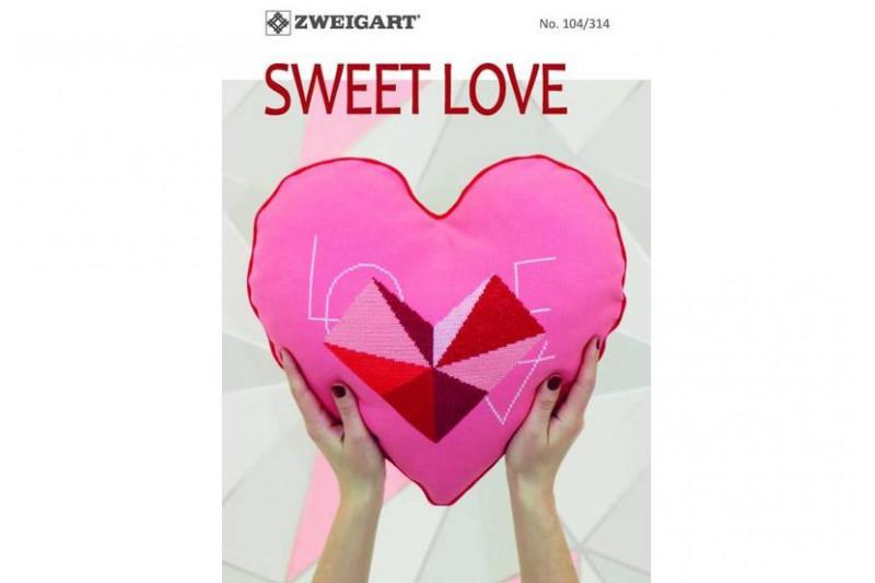 Livret zweigart n 314 sweet love