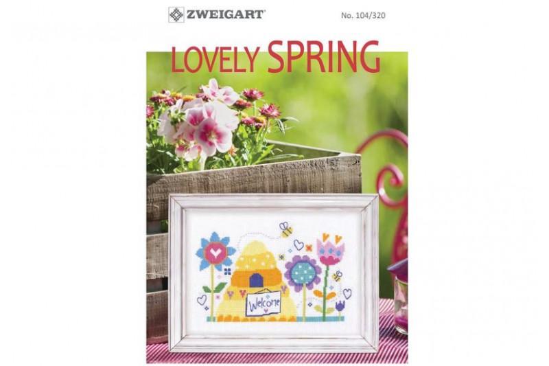 Livret zweigart n 320 lovely spring