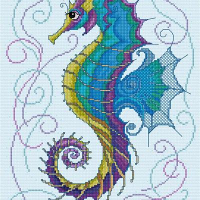 Glorious Seahorse 'Hippocampe' Lesley Teare