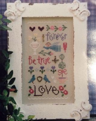 Love sampler 102 Lizzie Kate