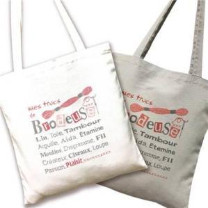 Llp sac01 tote bag brodeuses