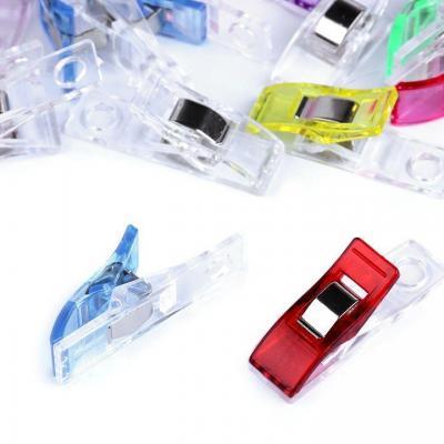 Lot de 10 pinces plastiques 10x37 cm pour couture
