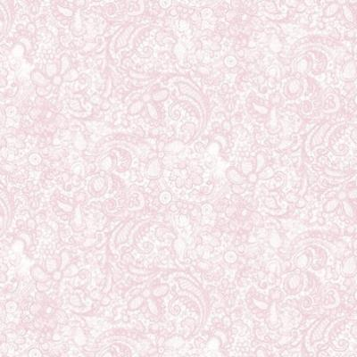 Tissu Patchwork Love Song Paisley Pink