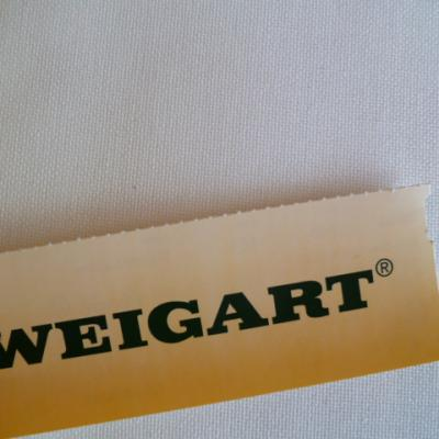 Toile à Broder Zweigart Murano 3984 12,6 Fils Blanc Antique 101