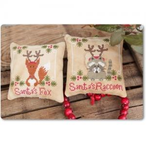 Madame chantilly fiche santa s fox and raccoon