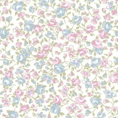 Tissu Patchwork Clothworks Love Song Madeline Small Floral