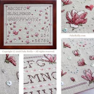Magnolia sampler faby reilly designs