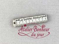 Mètre la bonne mesure PM Ivoire ME-21-IV Atelier Bonheur du Jour