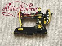 Machine à coudre ancienne ME-28 - Atelier Bonheur du Jour