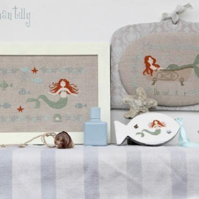 Mermaid Madame Chantilly