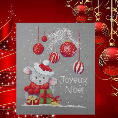 Mimi à Noël 1036 Au Fil de Martine
