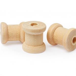 Mini bobines en bois