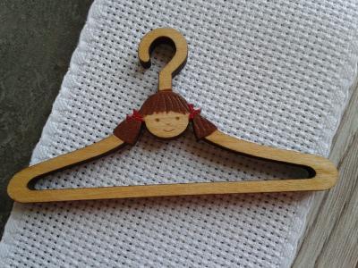Mini Cintre Petite fille 7,5cm