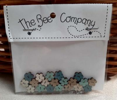 Lot de 20 Mini Fleurs Assorties TF13 The Bee Company