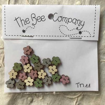Lot de 20 Mini Fleurs assortis TM11 The Bee Company