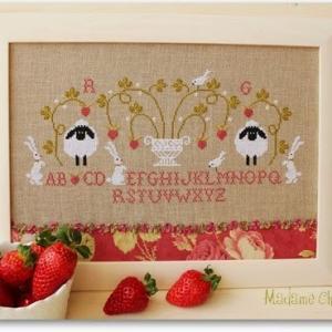 Mme chantilly fraises
