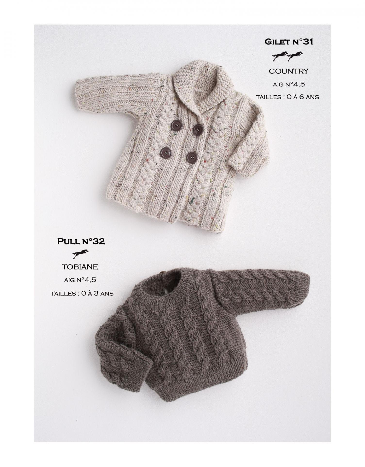Modele gilet cb17 31 patron tricot gratuit