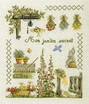 Mon jardin secret N° 531 Au Fil de Martine