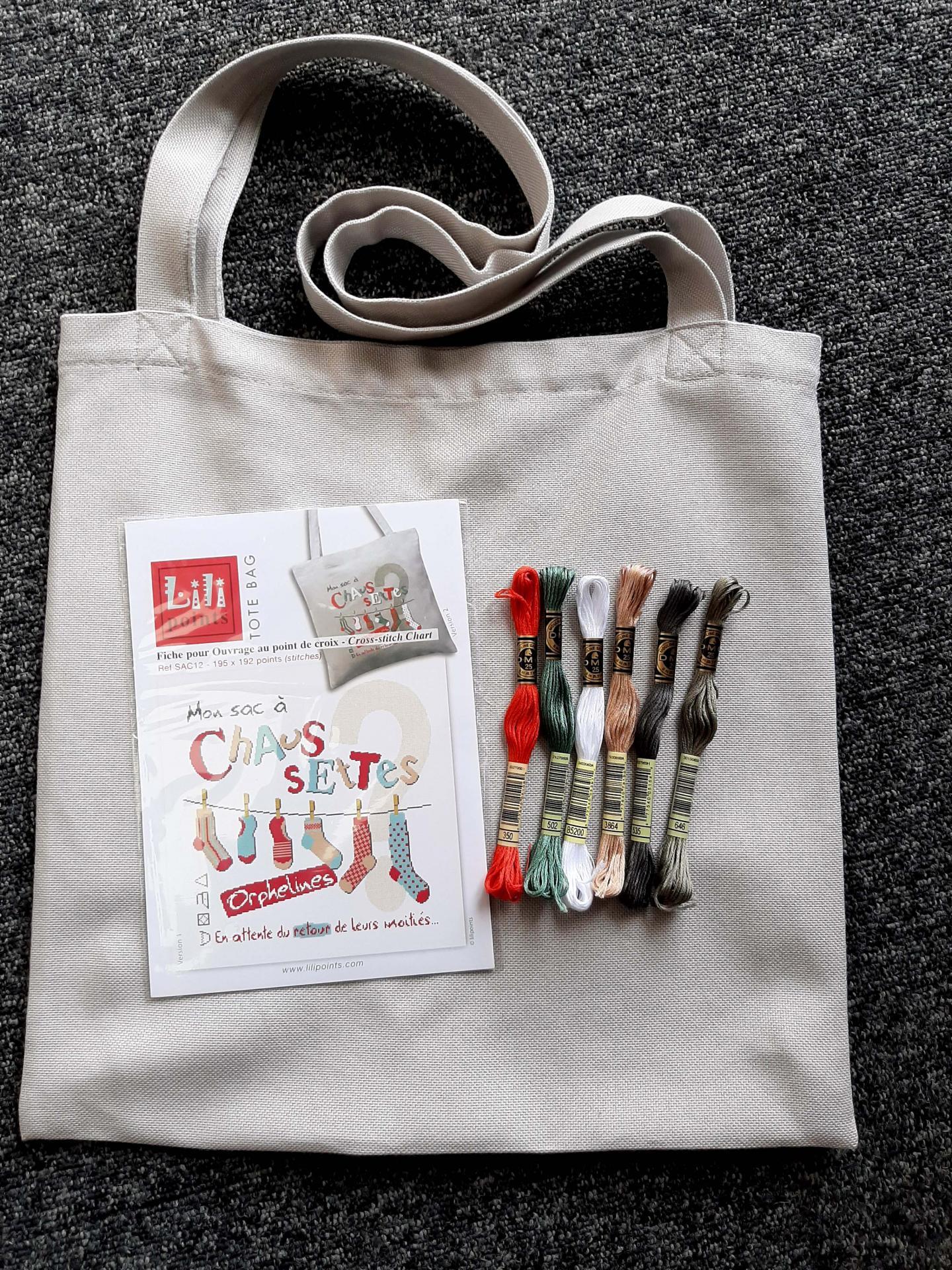 Mon sac a chaussettes orphelines sac12 version 2 lilipoints pour la boutique de brode41