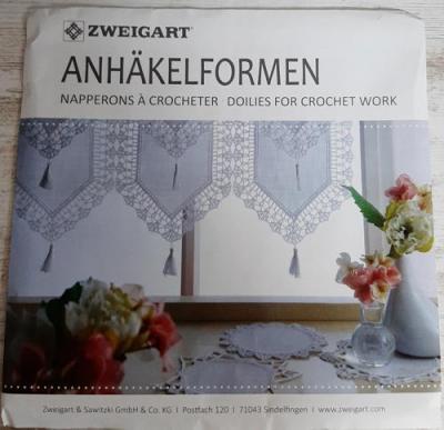 Napperon crochet - CARRE 7015 Blanc 100 - ZWEIGART