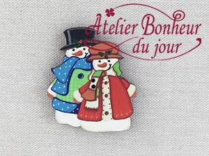 Bonhommes de neige NE-21 - Atelier Bonheur du jour