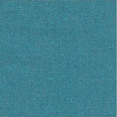 Toile à Broder Zweigart  de Lin Newcastle 3217 16 Fils Pacific Métallisé bleu 6136