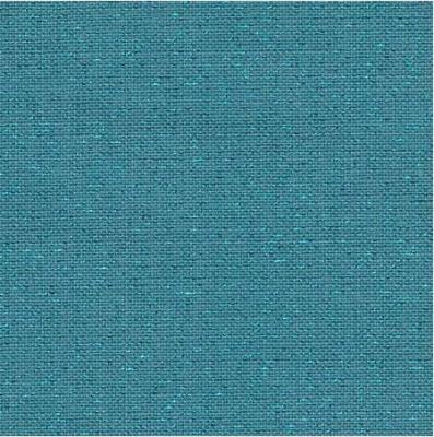 Toile à Broder Zweigart  de Lin Newcastle 3217 16 Fils Pacific Métallisé bleur 6136