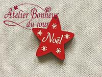 Etoile de Noël NO-17-RG - Atelier Bonheur du jour