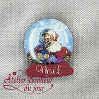 Boule de Noël NO-20 - Atelier Bonheur du jour