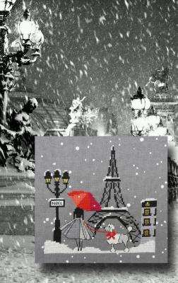 Noël à Paris 1061 Au Fil de Martine