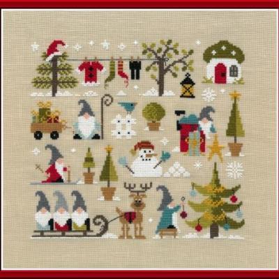 Noël chez les Gnomes FT91 Jardin Privé