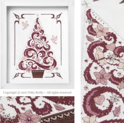O Tannenbaum en Rose - Faby Reilly Designs