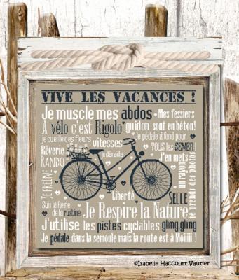 A Vélo c'est Rigolo BDN42 Isabelle Haccourt Vautier