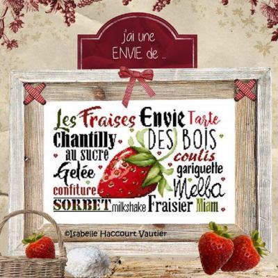 Une Envie de Fraises BDN60 Isabelle Haccourt Vautier