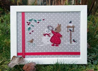Perline et le bonhomme de neige Couleur d'Etoile CE0140