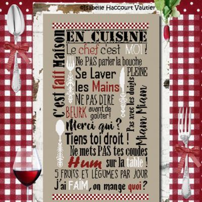 En cuisine BDN50 Isabelle Haccourt Vautier