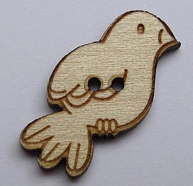 Oiseau Regarde à droite BLF049