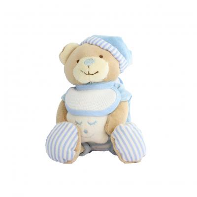 Doudou ours étoile bleu 12 x 10 cm