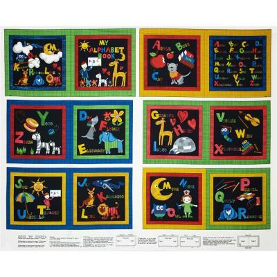 Tissus Panneau Patchwork Back to School Livret Réf : 112 29961