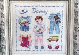 Paper doll Danny 'Fiche'