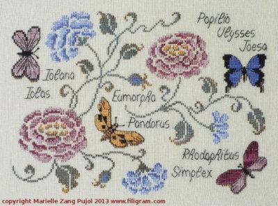 Papillons F69 Filigram